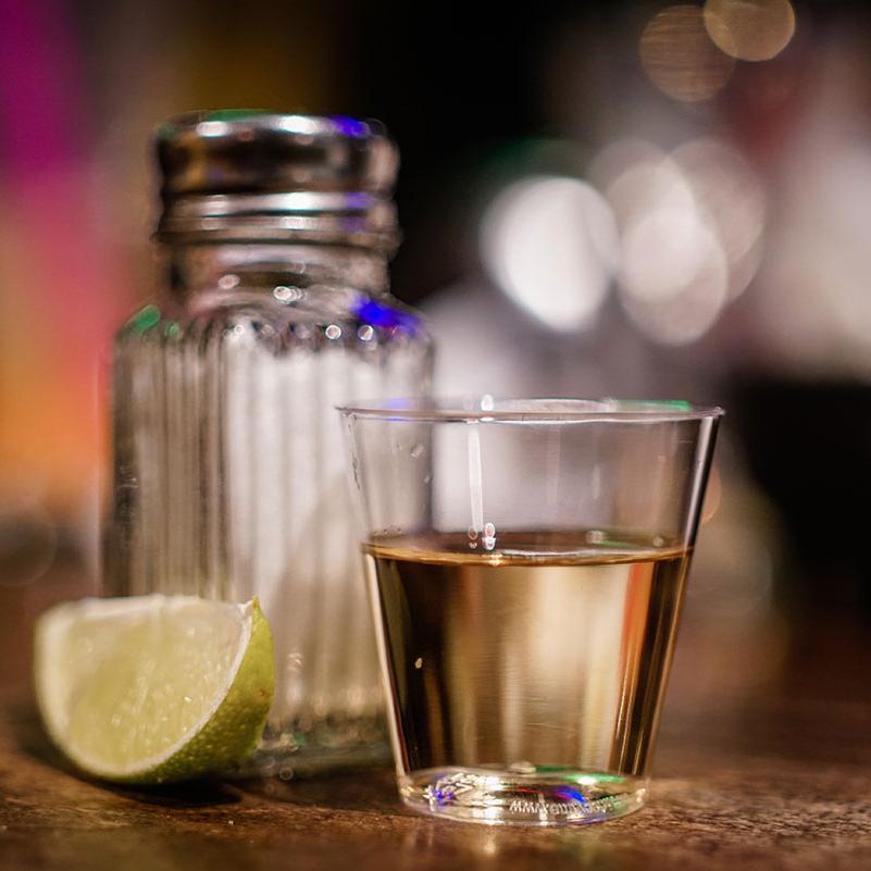 Drinks med tequila
